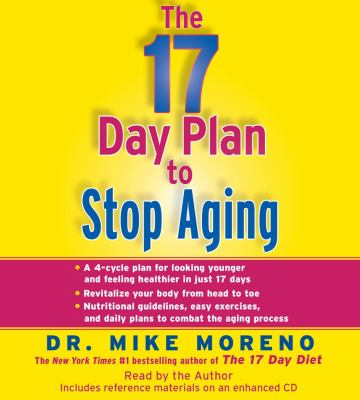 The 17 Day Plan to Stop Aging 9781442349186