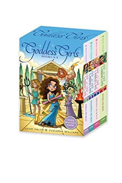 Goddess Girls Boxed Set with Charm Bracelet: Athena the Brain; Persephone the Phony; Aphrodite the Beauty; Artemis the Brave 9781442482104