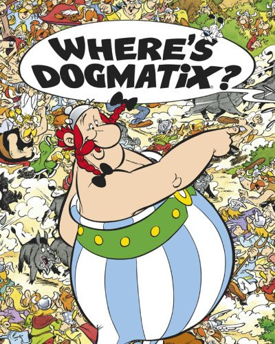 Where's Dogmatix? 9781444005837