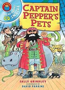 I am Reading with CD: Captain Pepper's Pets 9781447222156