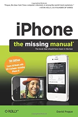 Iphone: The Missing Manual 9781449301774