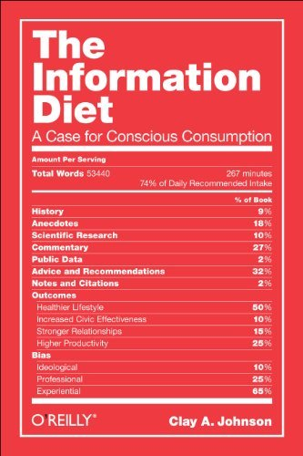 The Information Diet: A Case for Conscious Consumption 9781449304683