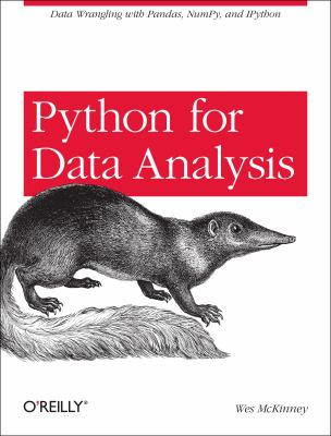Python for Data Analysis 9781449319793