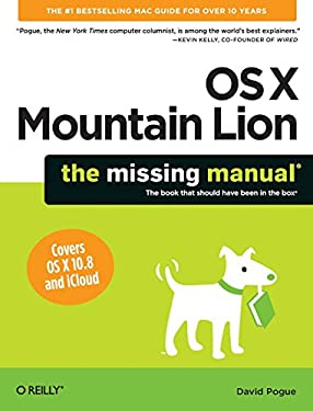 OS X Mountain Lion: The Missing Manual 9781449330279