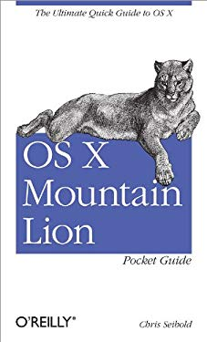 OS X Mountain Lion Pocket Guide 9781449330323
