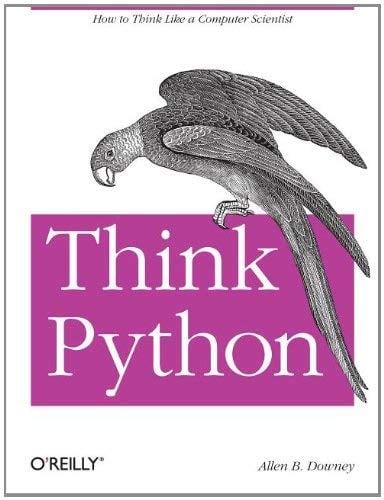 Think Python 9781449330729