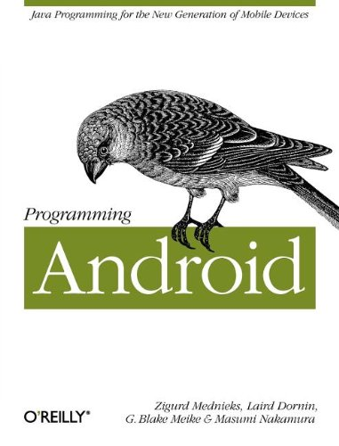Programming Android 9781449389697