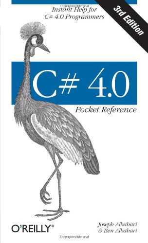 C# 4.0 Pocket Reference 9781449394011