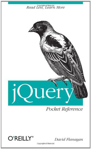 jQuery Pocket Reference 9781449397227