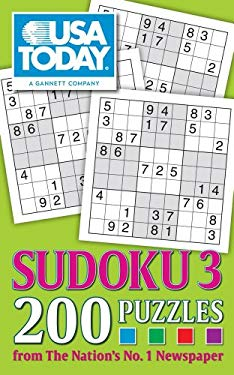 USA Today Sudoku 3: 200 Puzzles 9781449410025