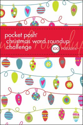 Pocket Posh Christmas Word Roundup Challenge: 100 Puzzles 9781449421755