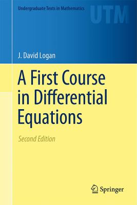 A First Course in Differential Equations 9781441975911