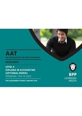 AAT - Personal Tax FA2012: Passcard (L4O) 9781445398303