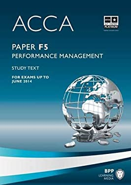 ACCA - F5 Performance Management: Study Text 9781445396477