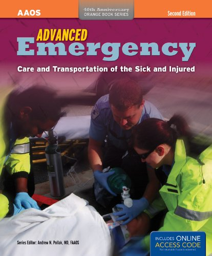 Advanced Emergency: Care and Transporation of the Sick and Injured [With Access Code] 9781449600815