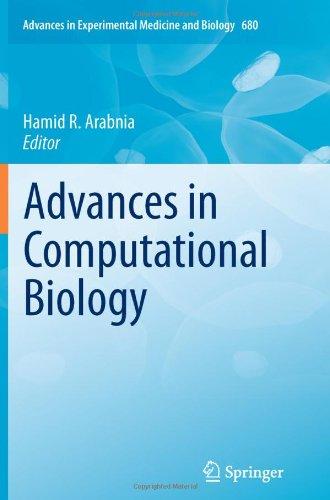 Advances in Computational Biology 9781441959126