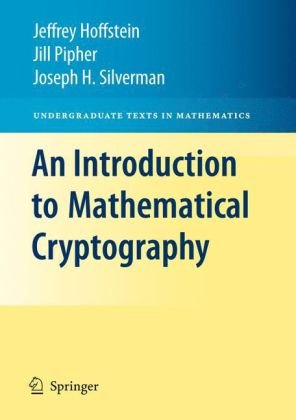 An Introduction to Mathematical Cryptography 9781441926746