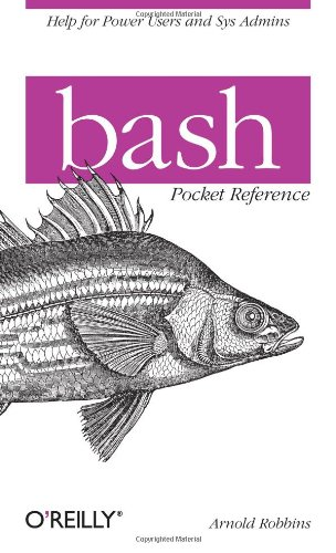 Bash Pocket Reference 9781449387884