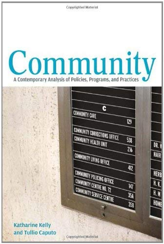 Community: A Contemporary Analysis of Policies, Programs, and Practices 9781442603660