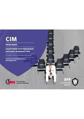 CIM - Post Graduate Diploma Level: Passcards 9781445391601