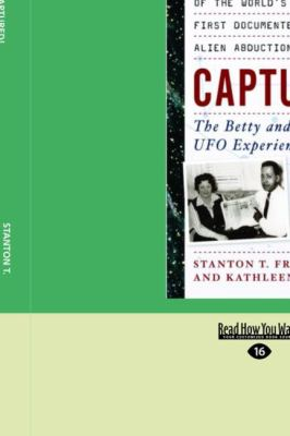 Captured!: The Betty and Barney Hill UFO Experience (Easyread Large Edition) 9781442961715