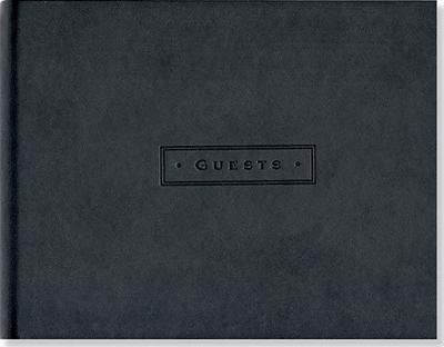 Classic Black Guest Book 9781441303318