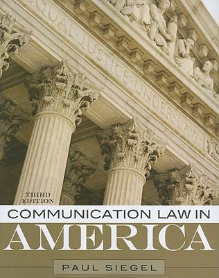 Communication Law in America 9781442209381