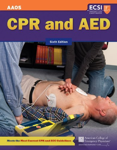 CPR and AED 9781449609405
