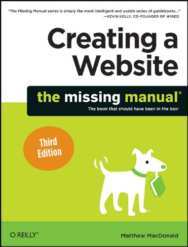 Creating a Website: The Missing Manual 9781449301729