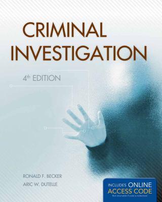Criminal Investigation 9781449650544