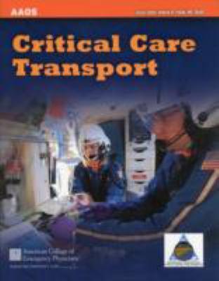 Critical Care Transport 9781449642587