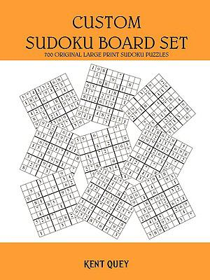 Custom Sudoku Board Set 9781440146992