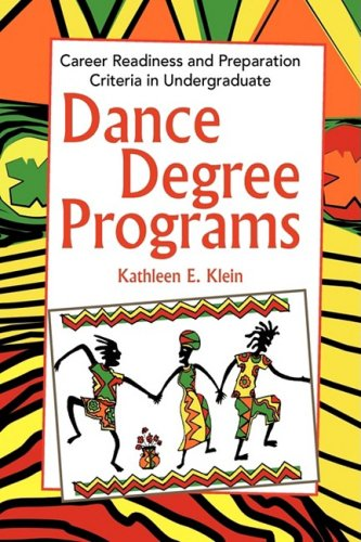 Dance Degree Programs 9781441501172