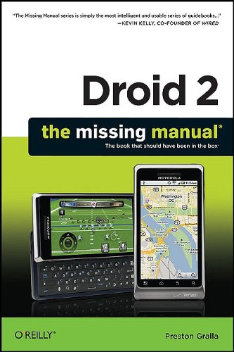 Droid 2: The Missing Manual 9781449301699