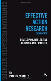 Effective Action Resesarch: Developing Reflective Thinking and Practice