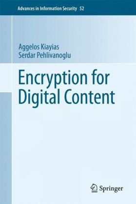 Encryption for Digital Content 9781441900432