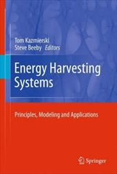Energy Harvesting Systems: Principles, Modeling and Applications 10281350