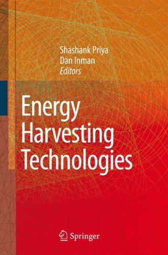 Energy Harvesting Technologies 9781441945525