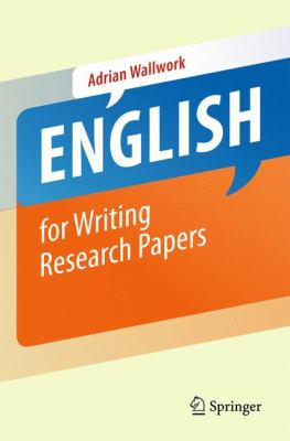 English for Writing Research Papers 9781441979216