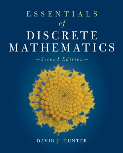 Essentials of Discrete Mathematics 9781449604424