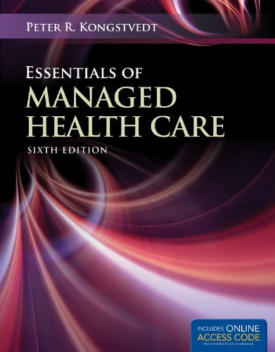 Essentials of Managed Health Care 9781449653316