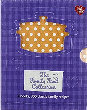 FAMILY FOOD COLLECTION X3 BOOKS 9781445472607