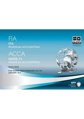 FIA Foundations of Financial Accounting - FFA: Passcards 9781445399843