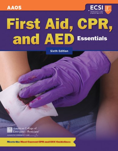First Aid, CPR and AED Essentials 9781449626624