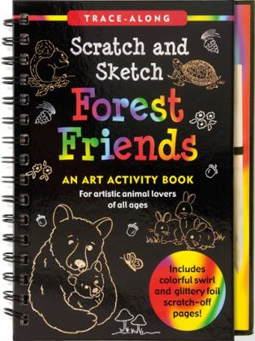 Forest Friends Scratch & Sketch (Trace Along) (Trace Along Scratch & Sketch)