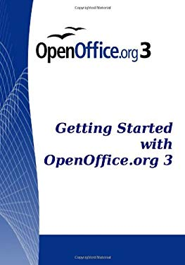 Getting Started with Openoffice.Org 3 9781441412041
