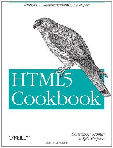 HTML5 Cookbook 9781449396794