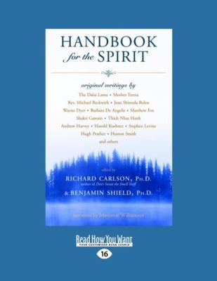 Handbook for the Spirit (Easyread Large Edition) 9781442974401