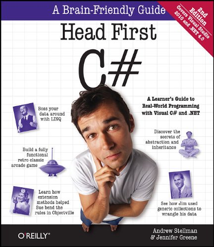 Head First C#: A Learner's Guide to Real-World Programming with Visual C# and .Net 9781449380342