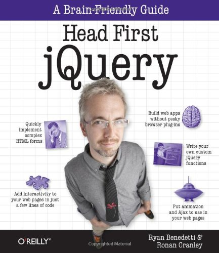 Head First jQuery 9781449393212